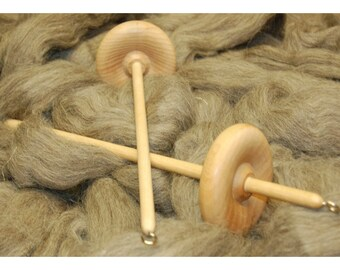 Beechwood drop spindle- Large 65g weight