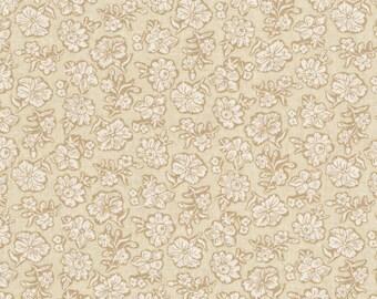 RJR - Shadow Flower, Cream - River Song by Lynette Jensen (3058-003) - Reproduction