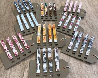 Handmade Magnetic Memo Note Holders