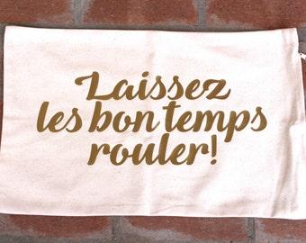 Laissez Les Bon Temps Rouler Mardi Gras Pillow