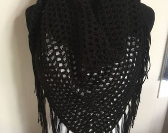 Boho Triangle Scarf