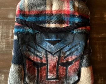 Transformers dog jacket