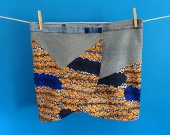 Recycled miniskirt multitalla Sa Ona