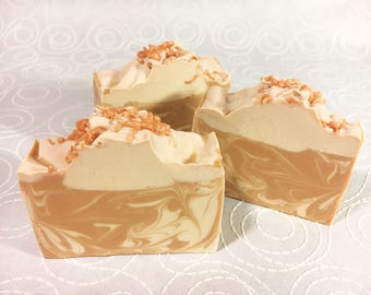 Peaches & Cream - Handmade Cold Process Soap