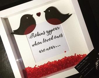 Robins Appear When Loved Ones Are Near...