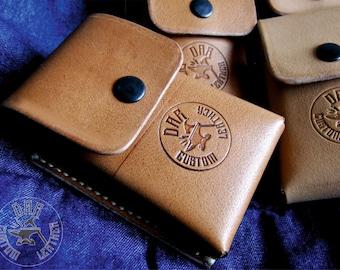 Leather Cigarette Case - Leather Cigarette Pouch - Cigarette Pack Holder - Cigarette Box - Cigarettes Holder - Gift