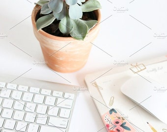Styled Stock Photo | Clean Desk | Blog stock photo, stock image, stock photography, blog photography