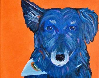 Pet Pop Art, Pet Portrait, Dog, Cat, Custom Painting, Canvas