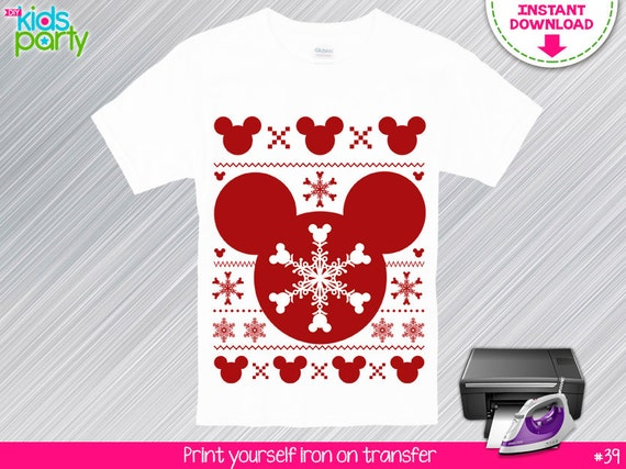 Instant download mickey mouse print yourself iron on transfer il570xn solutioingenieria Gallery