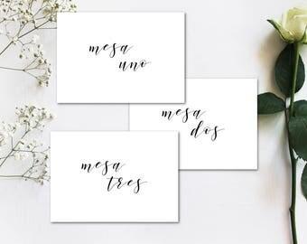 Table Numbers Printable, Wedding Table Numbers, Table Number Template, Wedding Printable, Wedding Ideas, Wedding Stationary, Wedding deco