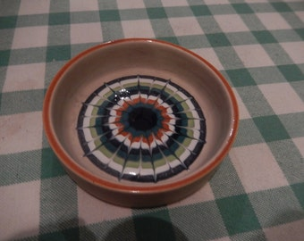 Hornsea Lancaster Vitramic Trinket Dish Muramic 1977, unusual vintage retro collectible
