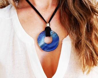 Necklace Aqua