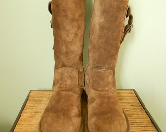 UGG Zippered Boots / Sheepskin UGG Boots Size 9