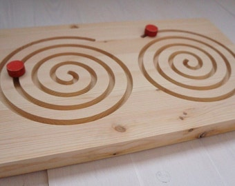 Wooden Maze | Wood Maze | Montessori Toy | Waldorf Learning Games | Wooden Games | Preschool Kids Activity | Toddler Games