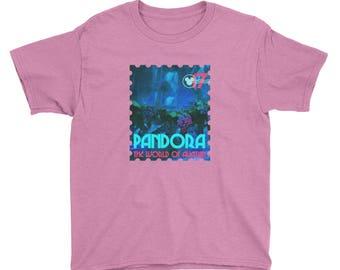 Kids Pandora World of Avatar Disney Kids Tshirt Disney World Tee Youth Animal Kingdom