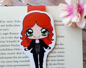 "Magnetic bookmarks ""Clary"" - inspired by Shadowhunters the mortal instruments"