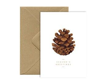 Pine Cone - Season's greetings