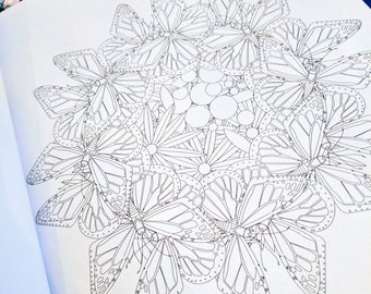 digital coloring book 32 coloring pages intricate coloring book colouring page coloring - Intricate Coloring Books