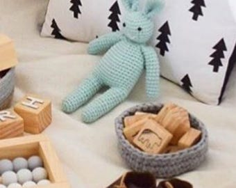 MADE TO ORDER - Crochet Bunny Rabbit