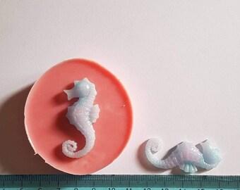 Flexible silicone mold seahorse!
