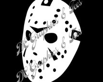 Unique jason voorhees decal related items | Etsy