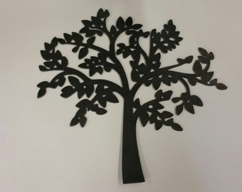 Superbe Tree Metal Art, Tree Wall Decor, Home Decor With Trees, Tree Wall Hanging