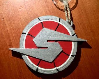 Metroid screw attack emblem