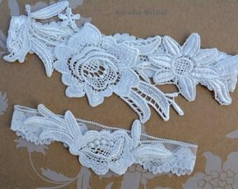 Off White Garter, Bridal Garter White, Wedding Garter, Wedding Garter Set, Garter Belt, White Wedding, Natural White Garter, Wedding Gift