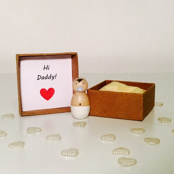 Expecting Baby Gifts Uk : Pregnancy announcement baby wooden peg dolls