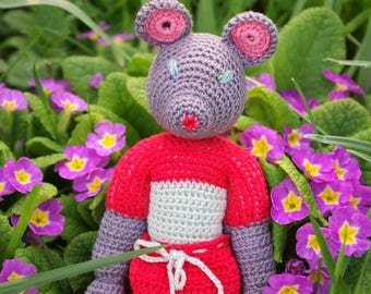 Marissa - Mouse crochet handmade