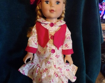 """American Girl or 18"""" doll 3 pc set"""