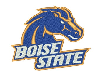 5 Size Boise State Broncos Embroidery Design College Football Embroidery Designs Instant Download Machine Embroidery Designs PES