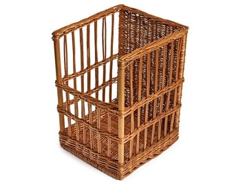 Baguette Basket. French stick. Bread display. - SP115