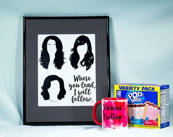 The Gilmore girls - Where You Lead poster print