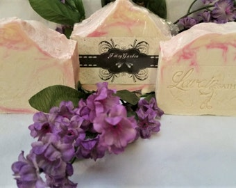Fairy Garden Handmade Soap - Coconut Oil Cold Process Soap
