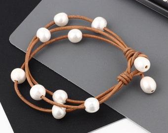 Delicate bead Bracelet Delicate Bracelet Set of  pearl  Bracelet