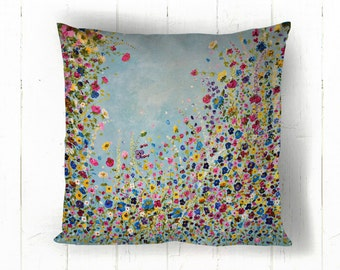 Strictly Wildflower Cushion