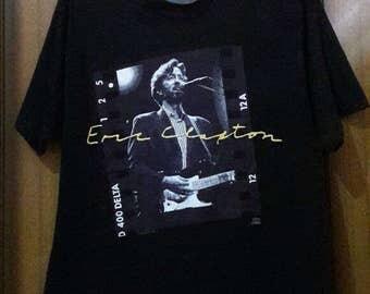 VTG Eric Clapton 1992. Crossroad Film Strip Photo