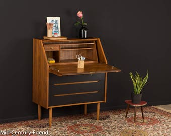 60's Secretary, chest of drawers, 50's, vintage (703015)