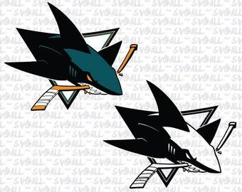 San Jose Sharks Svg Files, San Jose Sharks Png, San Jose Sharks PDF, San Jose Sharks EPS, San Jose Sharks DXF Instant Download