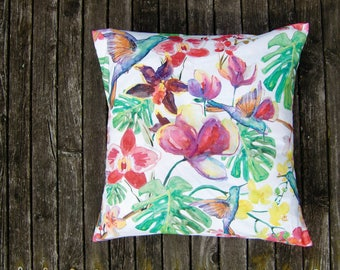Pillow Case - Flowers - Tropical