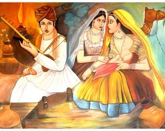 Rajasthani Mother