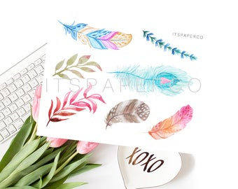 Boho Elements - Bullet Journal - Planner Stickers - BE001