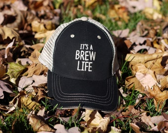 CRAFT BEER HAT, Beer Lover Gift, Beer Gift, Beer Fest, Baseball Cap, Outerwear, Beer Hat, Craft Beer, Gift Ideas, ItsABrewLife