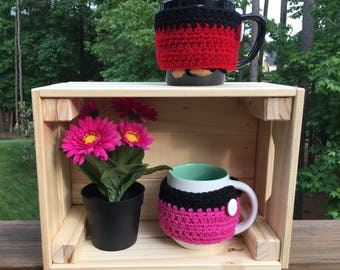 Mug Cozy/Mickey Inspired Mug Cozy/Minnie Inspired Mug Cozy
