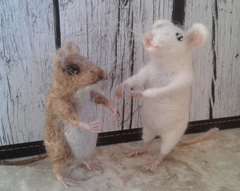MOUSE Needle Felt Kit