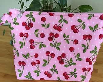 Cherries Jubilee Project Bag