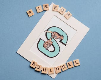 S is for Squirrel