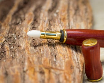 Applicator perfume, Handmade, handmade, turning wood, Woodturning, original gift idea, unique Piece