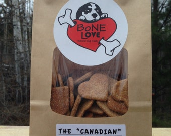 "Maple & Bacon ""The Canadian"" Natural Dog Treats 400g"